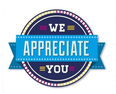 a word of appreciation scnc